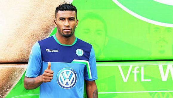 Carlos Ascues firmó contrato hasta el 2018. (Wolfsburgo)