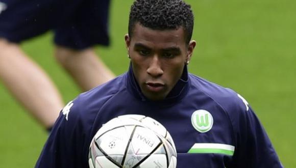 Carlos Ascues podía ser titular este sábado con el Wolfsburgo pero se lesionó. (USI)