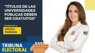 Asceli Rabasa candidata al congreso por Victoria Nacional