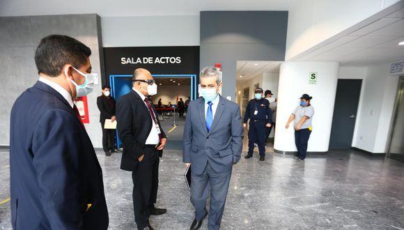 """Tomás Gálvez calificó de """"arbitraria"""" decisión de la Junta Nacional de Justicia. (Hugo Curotto/GEC)"""