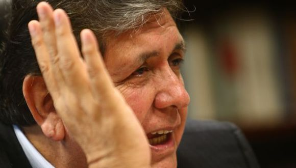 Yo acuso. García dijo que Gobierno ordenó difusión del informe. (Rafael Cornejo)
