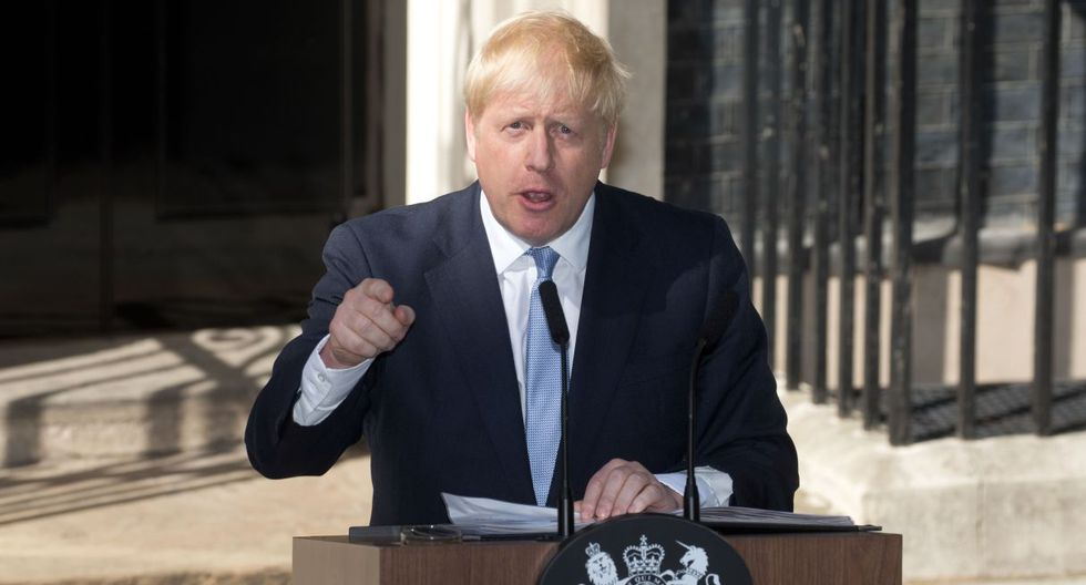 Johnson contaba hasta ahora con una mayoría escasa de un solo diputado.(Foto: AFP)