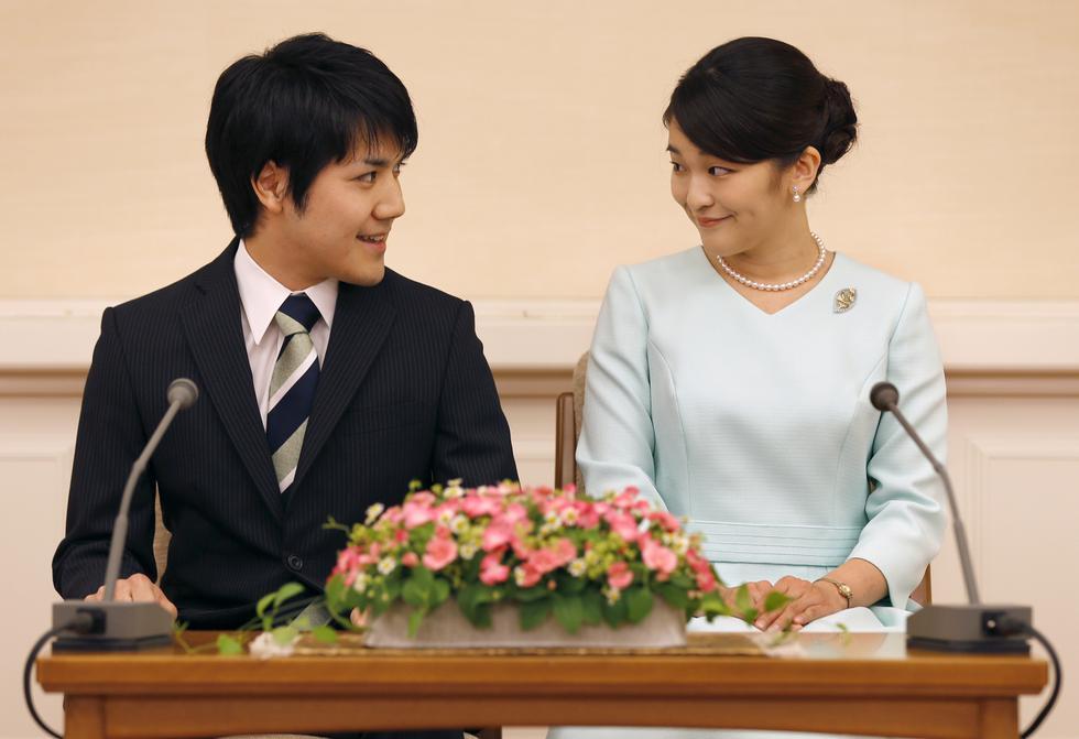 La princesa que renunció a la realeza por amor. (AFP)