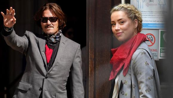 Johnny Depp ganó demanda y Amber Heard tendrá que demostrar que cumplió con acuerdo de divorcio. (Foto: AFP/Nikals Halle'n/Justin Tallis)