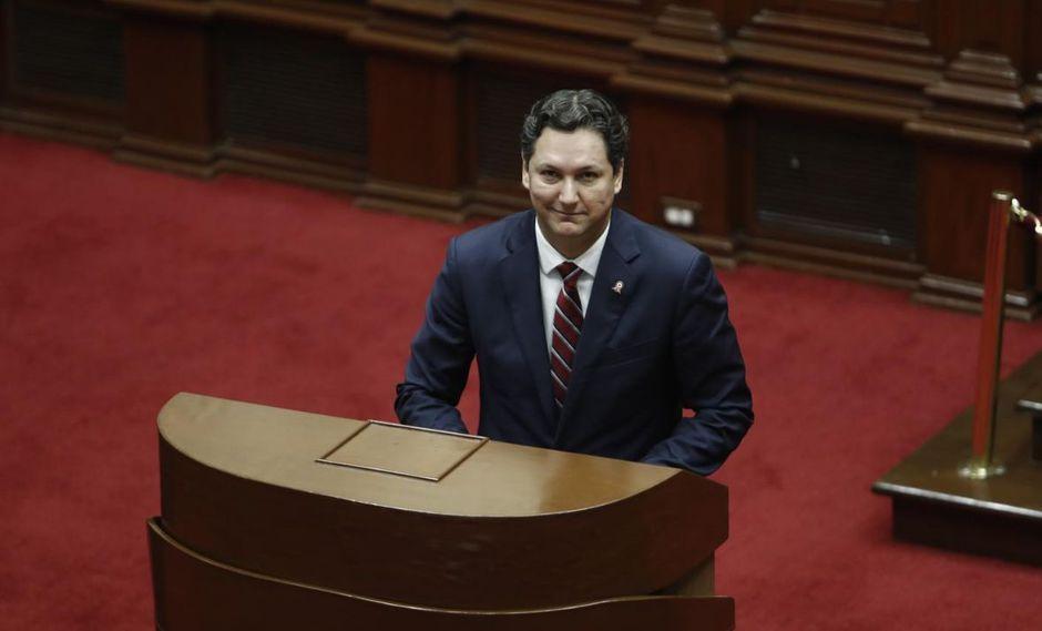 """Salaverry señaló que en su gestión se realizaron esfuerzos por """"mantener abierto el Congreso"""". (Foto: GEC)"""