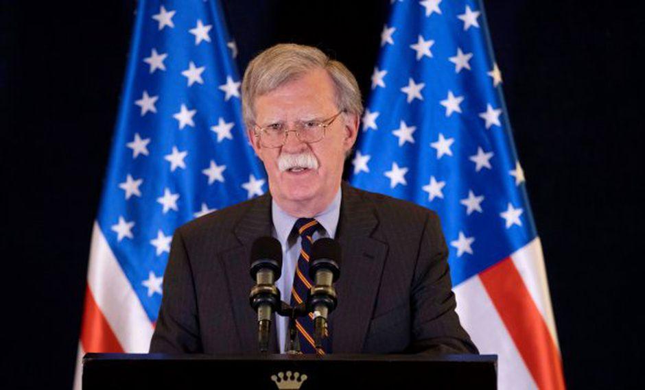 John Bolton señala que Estados Unidos no reconocerá la toma de posesión ilegítima de la dictadura de Nicolás Maduro. (Foto: EFE)