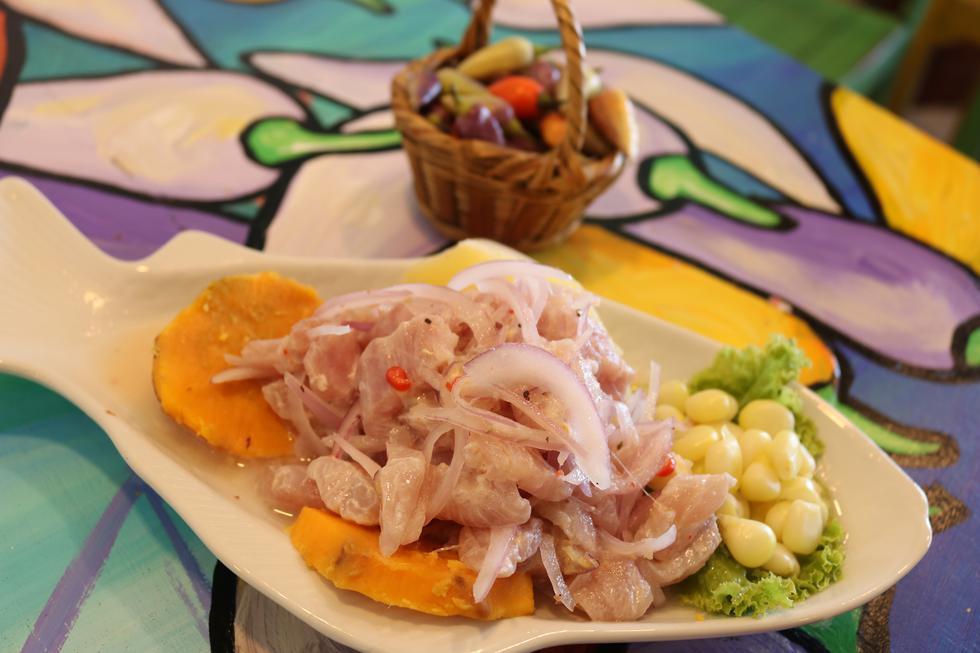 Ceviche, el plato bandera de Perú (Foto: Cecilia Rodriguez )