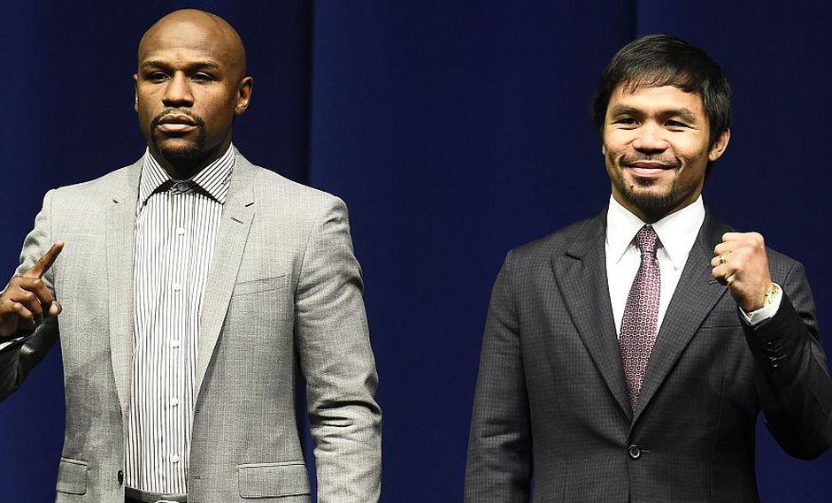 El ganador de la pelea entre Floyd Mayweather y Manny Pacquiao recibirá un cinturón de esmeraldas. (AFP)