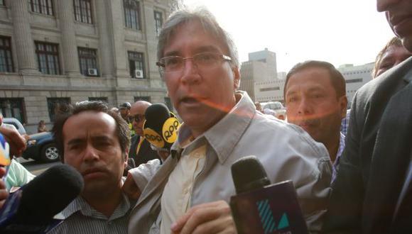 La defensa de Aurelio Pastor presentó recurso para anular la sentencia en su contra. (USI)