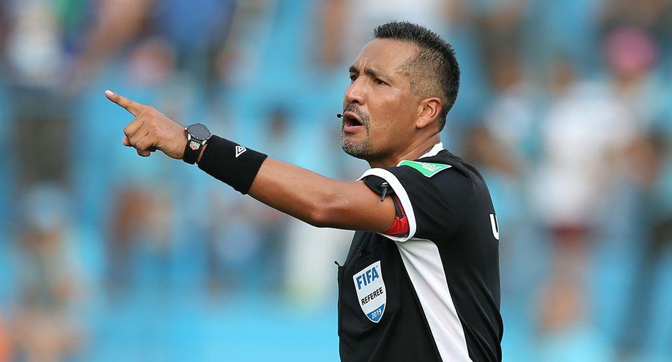 Miguel Santiváñez será el árbitro principal del partido de este miércoles. (Foto: Archivo GEC)