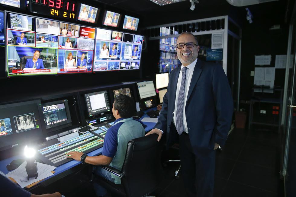 Hugo Coya regresa a la presidencia ejecutiva del Instituto Nacional de Radio y Televisión del Perú. (USI)