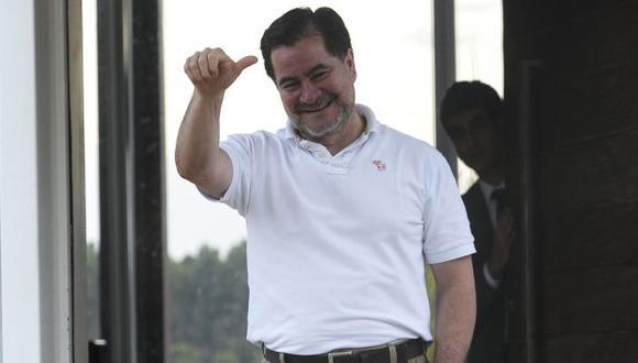 Roger Pinto en la casa de su abogado en Brasilia. (AFP)