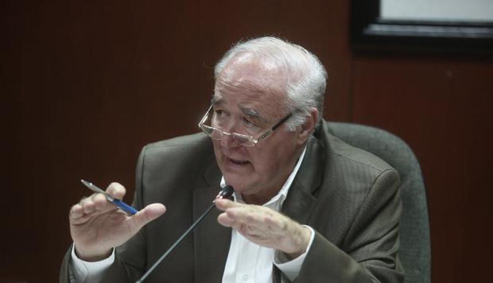 García Belaunde señala que alza del ISC podría impactar en popularidad del presidente. (César Campos/Perú21)