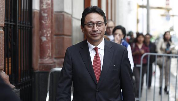 Humberto Abanto descartó una visita a su defendido Jaime Yoshiyama en su viaje a Estados Unidos. (Foto: USI)