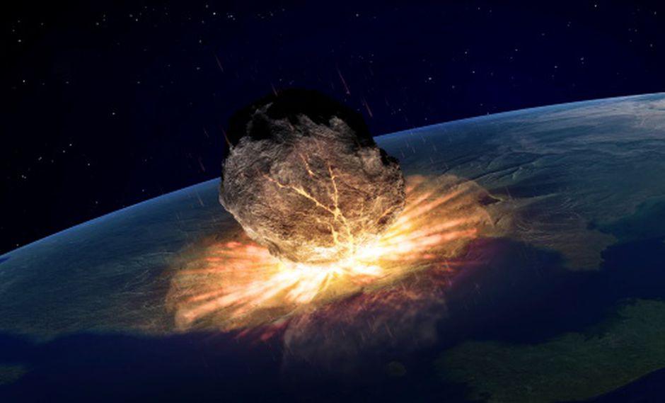 El asteroide,  en este escenario, media entre 100 y 300 metros de diámetro y tenía un 10% de posibilidad de chocar con la Tierra el 29 de abril del 2027.  Los científicos tenían un plazo de 8 años paracombatir la amenaza. (GETTY)