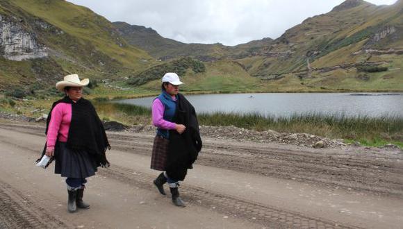Se alistan más protestas en Cajamarca  contra Conga. (Fabiola Valle)