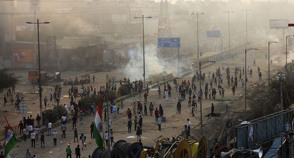 Los reportes señalan que existen 130 heridos por las protestas en la India a causa de la Ley de Ciudadanía. (Foto: AP)