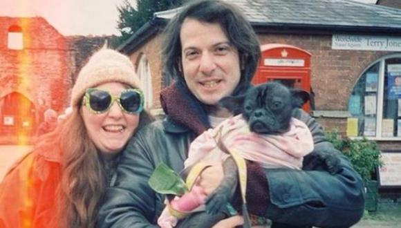 Los recién casados se conocieron en una cita a ciegas en la ciudad de Londres (Foto: Lena Dunham / Instagram)