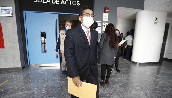 El juez supremo Martín Hurtado fue suspendido de sus funciones en julio del año pasado. (GEC)
