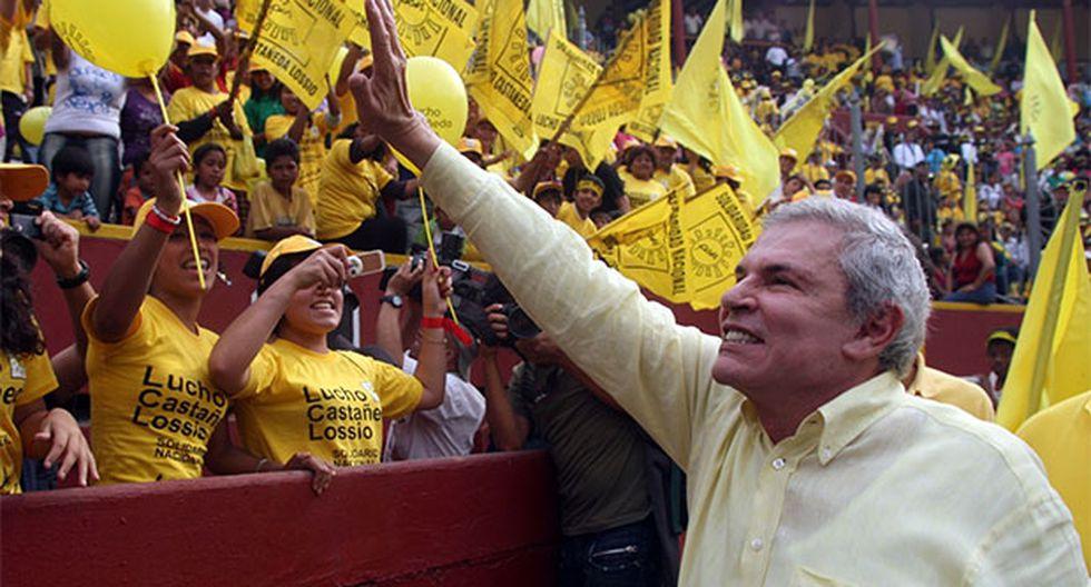 Partido de Luis Castañeda en el ojo de la tormenta por detención de cuarto alcalde de Solidaridad Nacional por corrupción. (Foto: Agencia Andina)