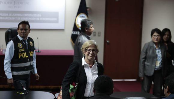 Villarán es investigada por la fiscalía por los presuntos delitos de asociación ilícita, cohecho pasivo propio y lavado de activos en agravio del Estado. (Foto: Hugo Pérez / GEC)