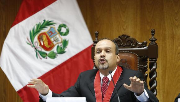 El fiscal Frank Almanza fue designado líder del equipo especial Lava Jato el 31 de diciembre de 2018. Pero renunció al cargo un día después. (GEC)