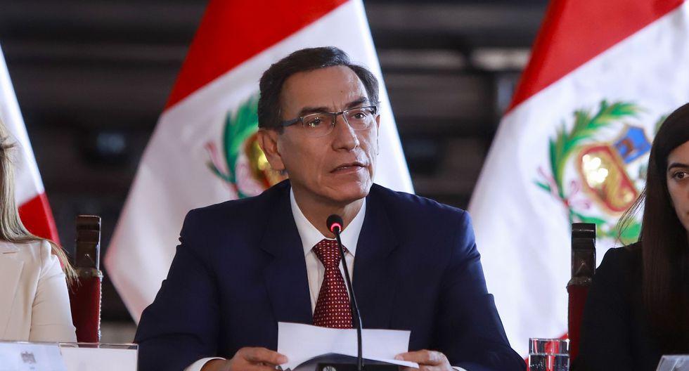 Martín Vizcarra señaló que el Ejecutivo no tuvo ninguna injerencia en el fallo que ordenó 15 meses de prisión preventiva contra Keiko Fujimori. (Foto: Presidencia Perú)