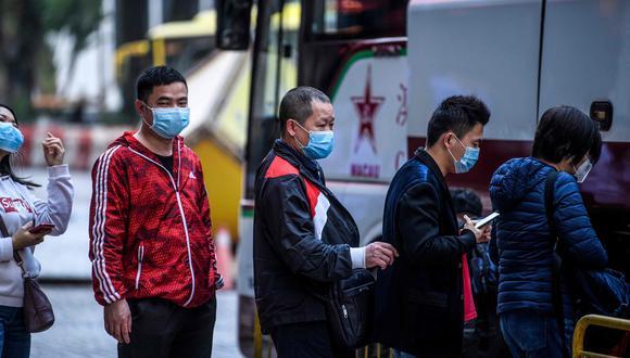 Cuarentena en Wuhan por coronavirus. (AP)