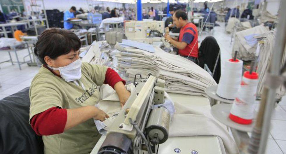 Los trabajadores son requeridos conforme hayan pedidos del exterior. (USI)