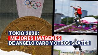 Tokio 2020: estas son las mejores imágenes de Angelo Caro y otros skater