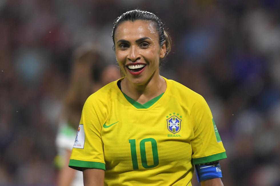 Marta es leyenda pura en la historia del fútbol. (AFP)