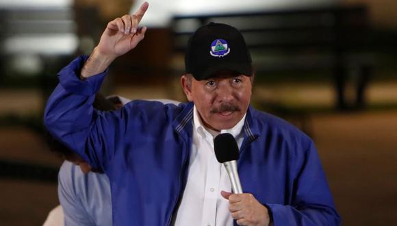 """Según el mandatario, el pueblo nicaragüense """"en medio del dolor que ha sufrido se llena de alegría y empuja para salir adelante"""". (Foto: AFP)."""