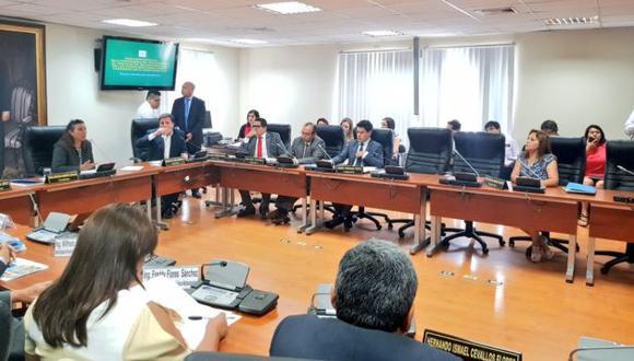 Comisión esperaba evaluar avance del proceso de reconstrucción (Twitter congresista Gladys Andrade)