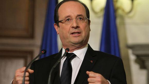 Presidente François Hollande confirmó la noticia durante una visita a Grecia. (AP)