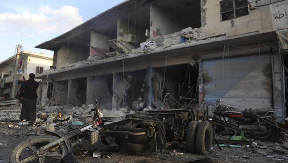 En Siria han muerto más de 370.000 personas desde 2011 cuando estalló la guerra civil. (Foto: AP)