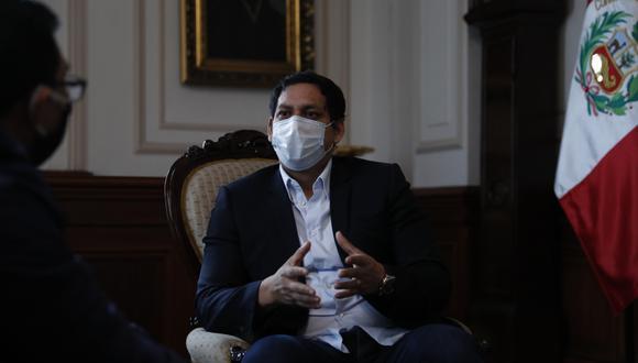 Luis Valdez aseveró que le desea el mayor de los éxitos al PPC de cara a los próximos comicios .(Foto: GEC)