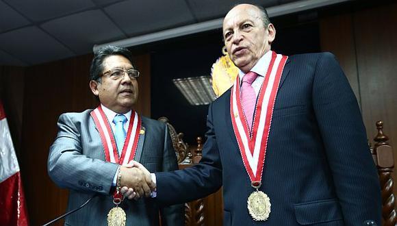 Carlos Ramos Heredia y José Peláez pasan de testigos a investigados en el Congreso por el caso Áncash. (Rafael Cornejo)