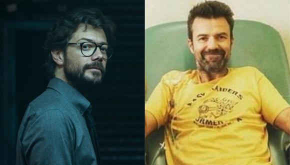 """Álvaro Morte, 'El Profesor' de """"La casa de papel"""", se conmueve por la muerte de Pau Donés. (Foto: Instagram)"""