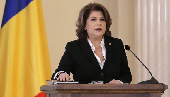 Fiscal Laura Codruta Kovesi ofreció detalles de procesos sobre corrupción en Rumania. (EFE)