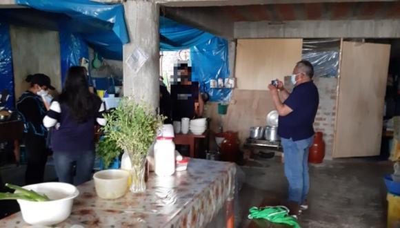 Ayacucho: intervienen restaurantes que no cumplían con medidas de bioseguridad (Foto: Ministerio Público)