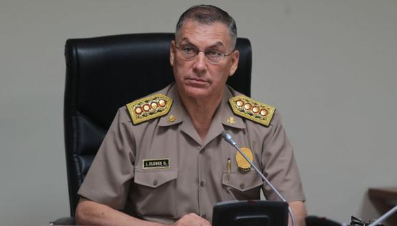 Caso López Meneses: General Jorge Flores será citado la próxima semana. (USI)