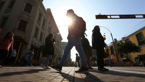 En Lima Oeste, la temperatura máxima llegaría a 27°C, mientras que la mínima sería de 19°C. (Foto: GEC)