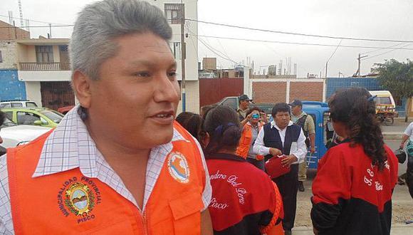 Poder Judicial ordenó la detención del alcalde de Pisco por difamación. (Difusión)