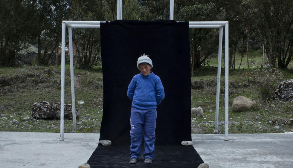 Jhon Tinoco Villegas 9 años, 5to grado, Cocón . (Luis Centurión/Perú21)