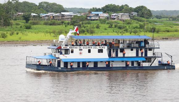 Loreto: Midis realiza la segunda campaña de las PIAS fluviales para atender a más de 56 habitantes de 136 comunidades nativas. (Foto Midis)