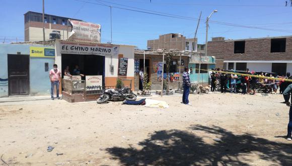 Sicarios asesinan de 5 balazos a dirigente de construcción civil en La Libertad (Foto: PNP)