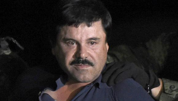 El Chapo Guzmán está detenido desde enero de 2017. (Foto: AFP)