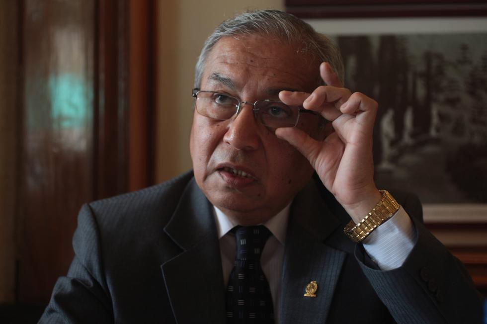 Pedro Chávarry le solicitó al fiscal Domingo Pérez, a través de un documento, aclararle tres puntos de la citación. (FOTO: USI)