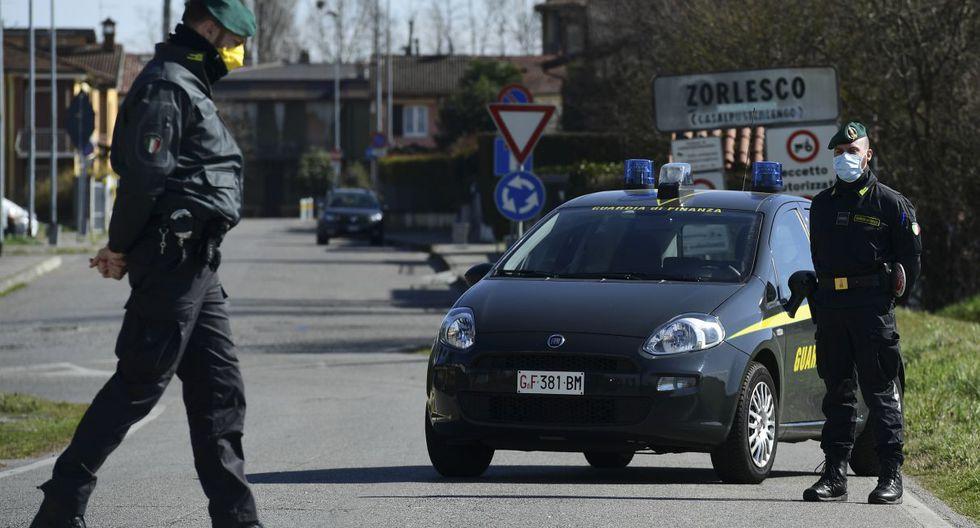 El gobierno de Italia ha confinado en cuarentena a más de 50.000 personas en once ciudades del norte. (AFP)
