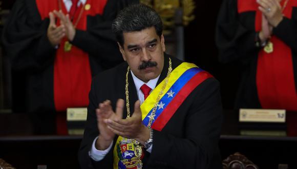 Nicolás Maduro indicó que si Estados Unidos decidiera no comprar más crudo a su país, él buscaría otros mercados. (Foto: EFE)
